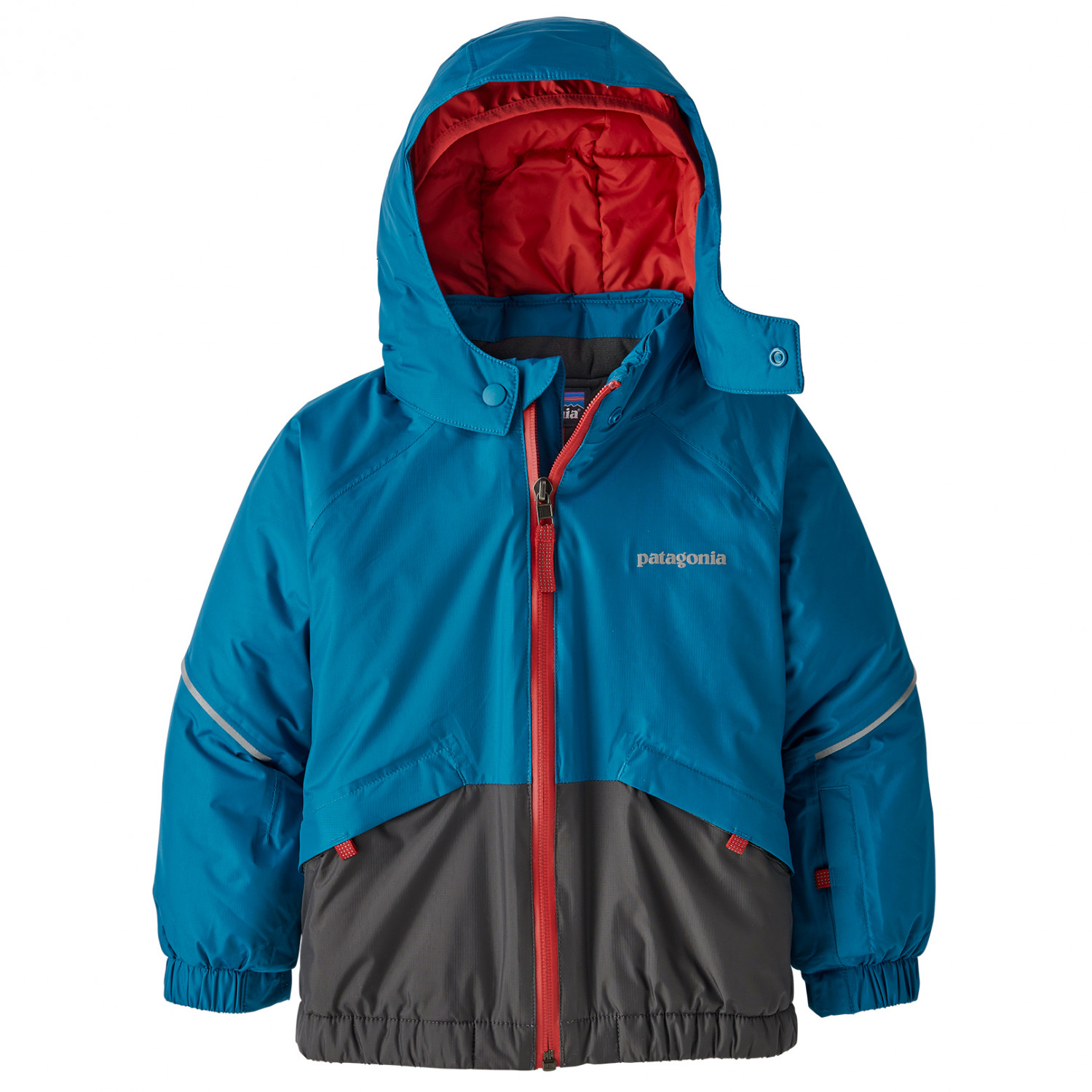 check out ced71 49164 Patagonia - Baby Snow Pile Jacket - Giacca da sci - Play Stripe / Woolly  Blue   3T (US)