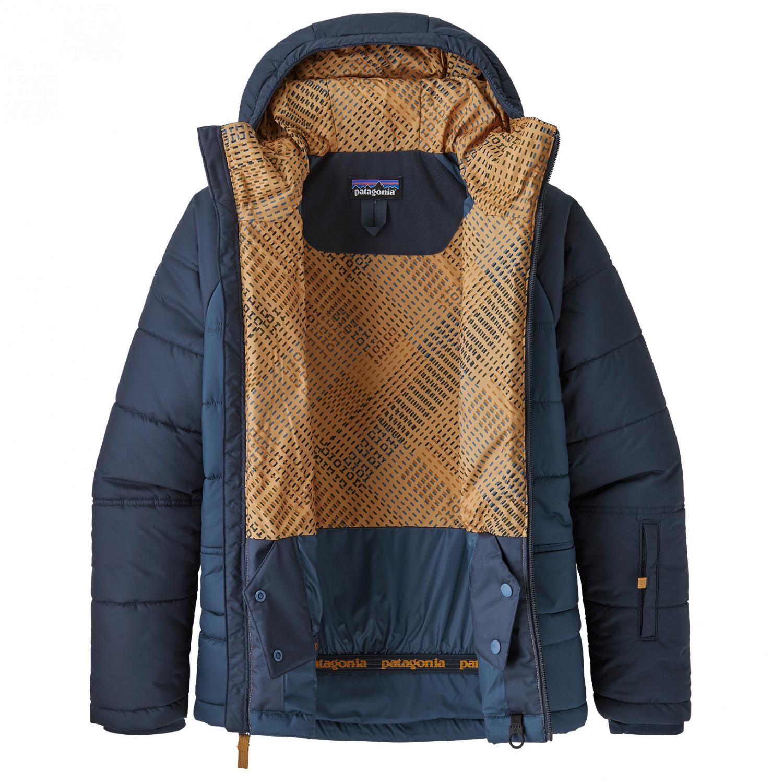 newest 10a45 d62b0 Patagonia - Boys' Aspen Grove Jacket - Giacca da sci - Stone Blue   XS
