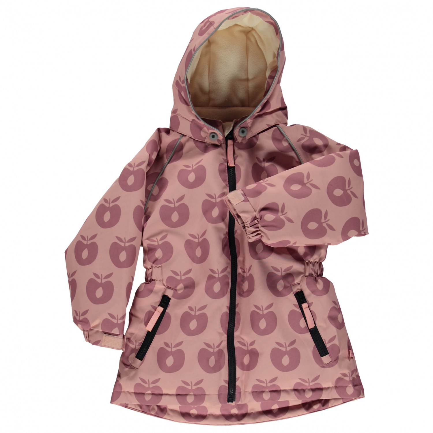 f09b573e7 Smafolk Winter Jacket with Apples - Coat Girls