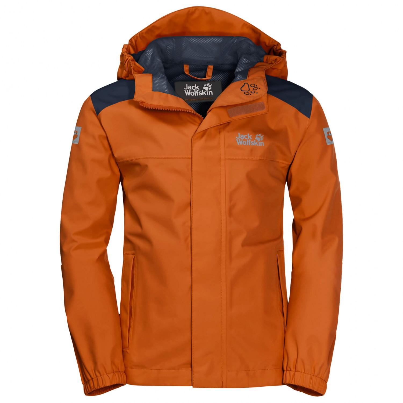 quality design 95075 df722 Jack Wolfskin - Kid's Oak Creek Jacket - Hardshell jacket - Night Blue    104 (EU)