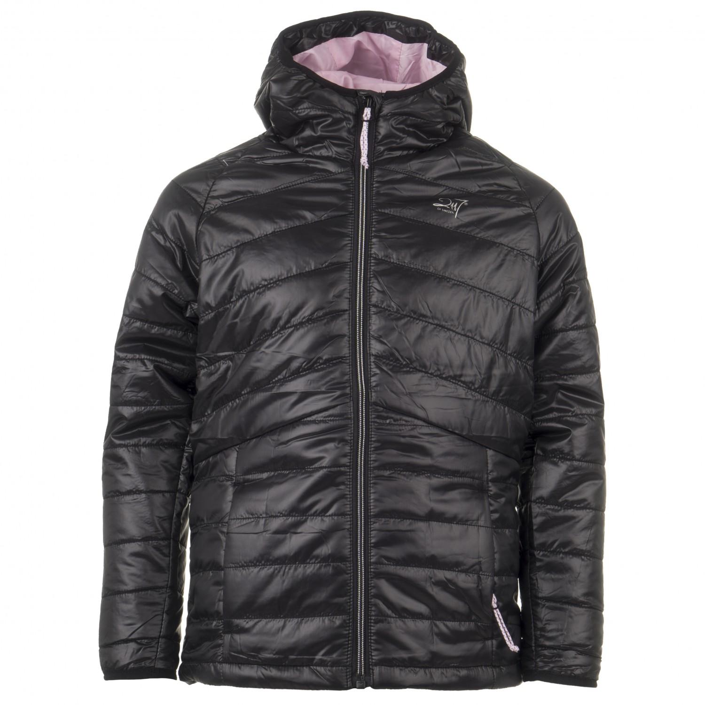 2117 of Sweden Girl's Light Padded Jacket Rutvik Synthetic jacket Black | 140 (EU)