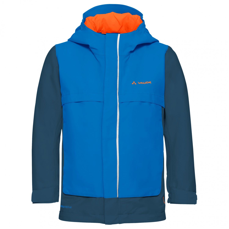 more photos e5bdd ae8b9 Vaude - Kid's Racoon Jacket V - Hardshelljacke - Radiate Blue | 110/116 (EU)