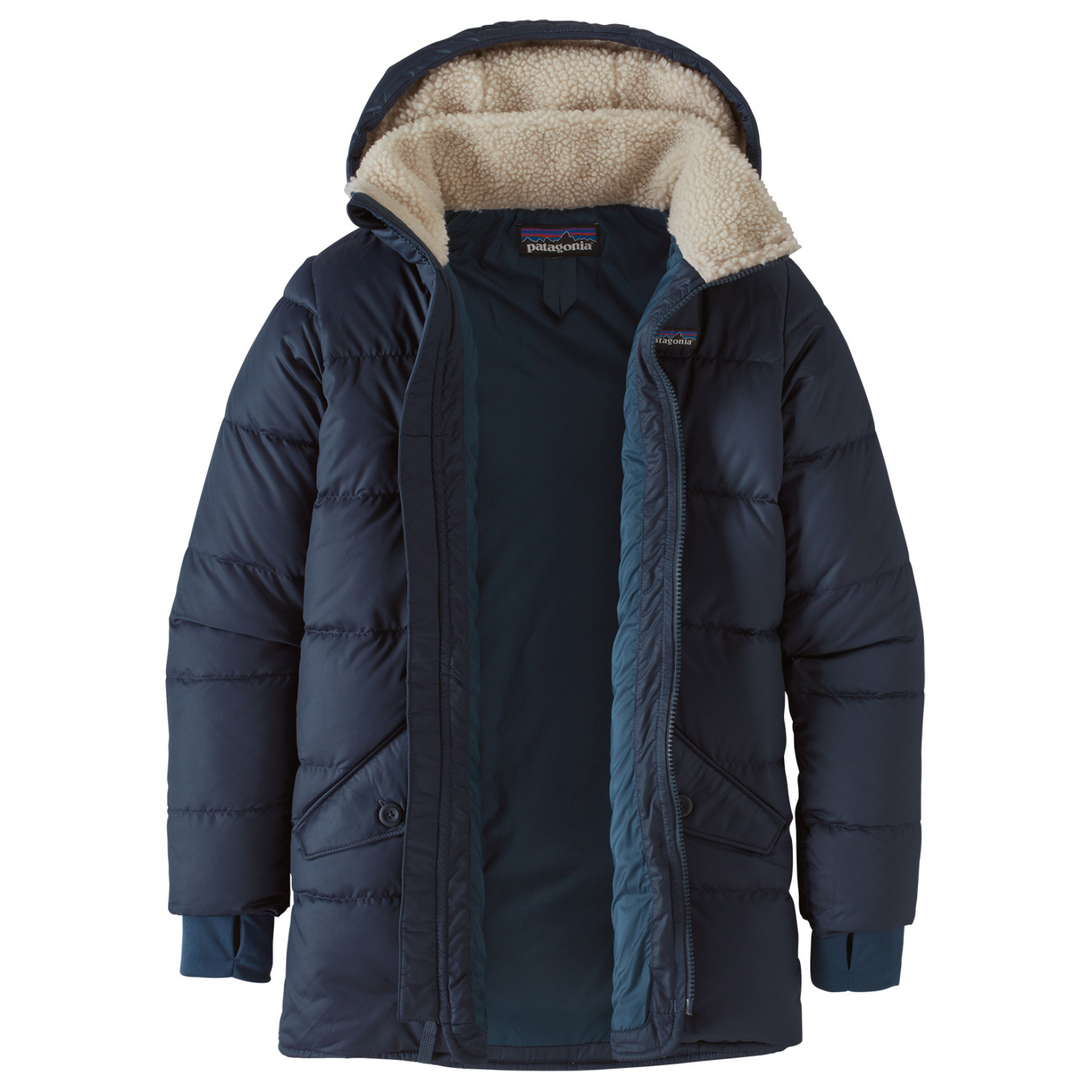 buy online d447b e6bad Patagonia - Kid's Down Parka - Mantel - Neo Navy | XS