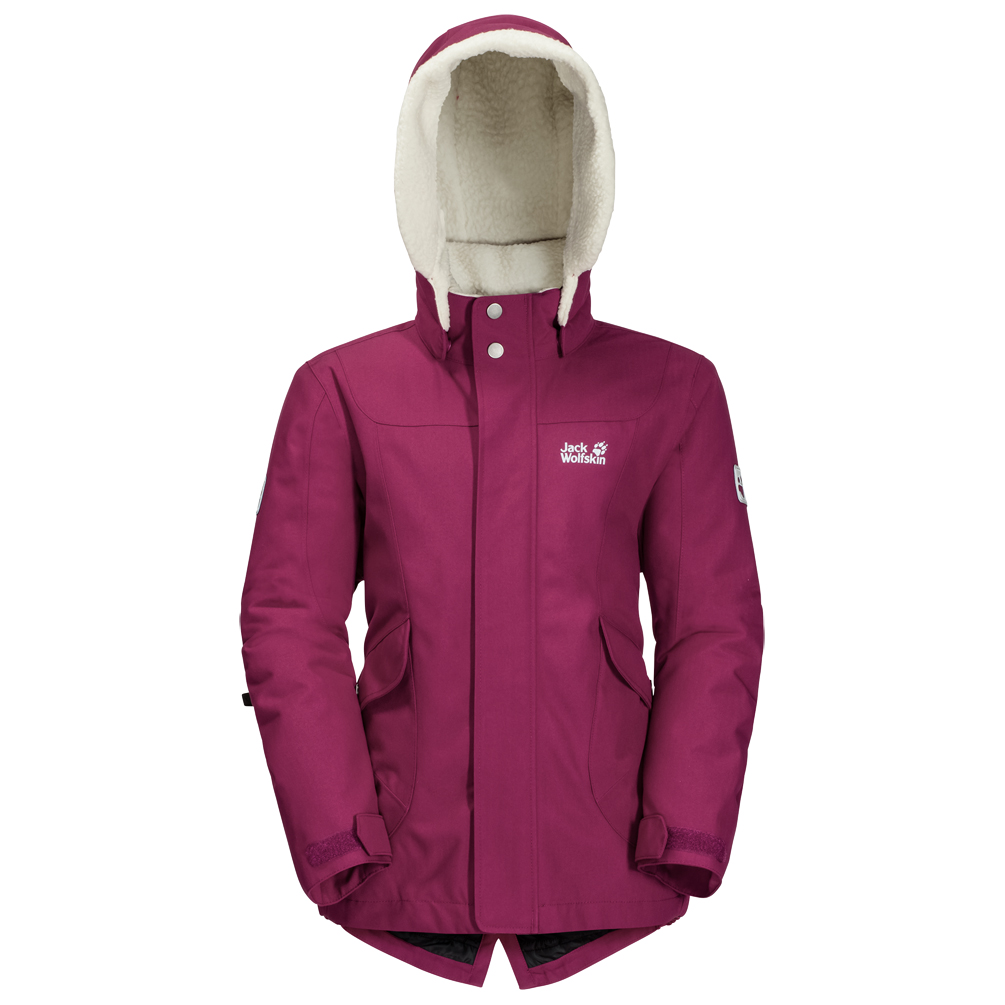 jack wolfskin great bear jacket winter jacket girls. Black Bedroom Furniture Sets. Home Design Ideas