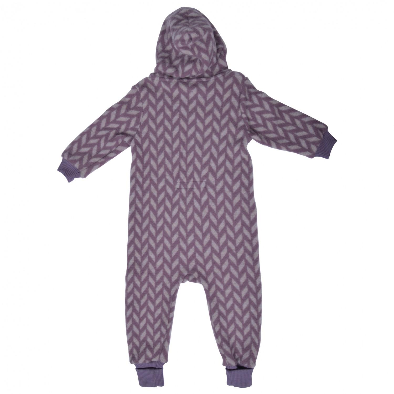 4f1b956cd Mikk-Line Wool Jacquard Suit W Hood - Overalls Kids