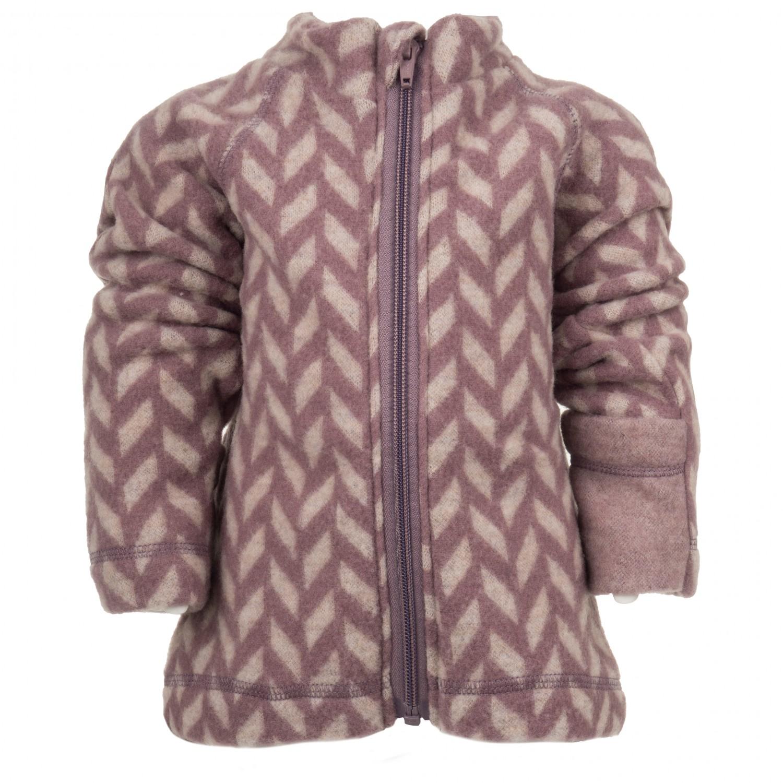 47f0d6b77 Mikk-Line Wool Baby Jacket Jacquard - Wool Jacket Kids
