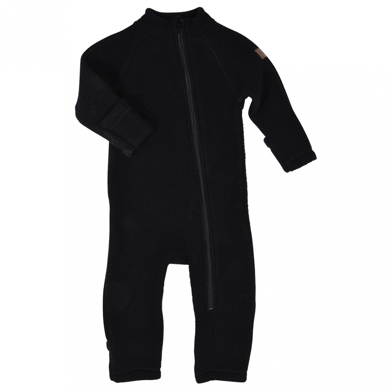 3e903af7c Mikk-Line - Wool Baby Suit - Overall - Flint   80 (EU)