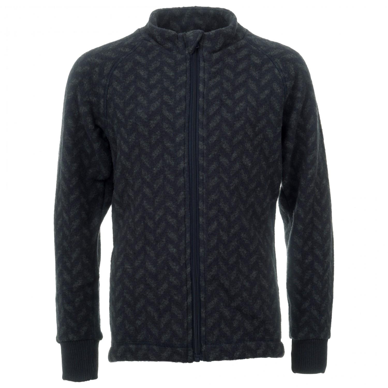 6966b654e Mikk-Line Wool Junior Jacket Jacquard - Wool Jacket Kids