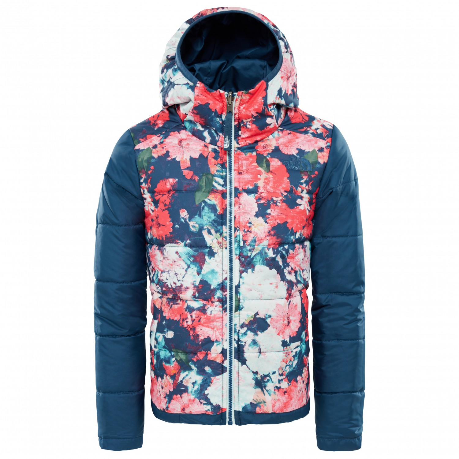 6ef454816 The North Face - Girl's Reversible Perrito Jacket - Kunstfaserjacke - Blue  Wing Teal | XL