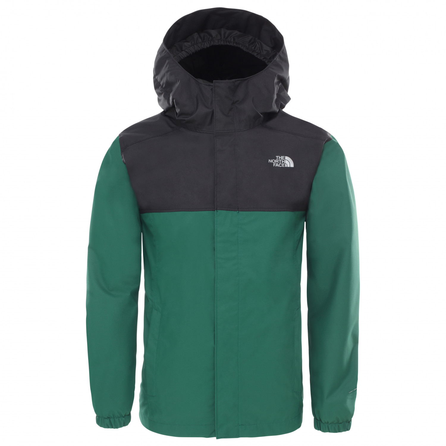 The North Face Kid's Resolve Reflective Veste imperméable Night Green   XS