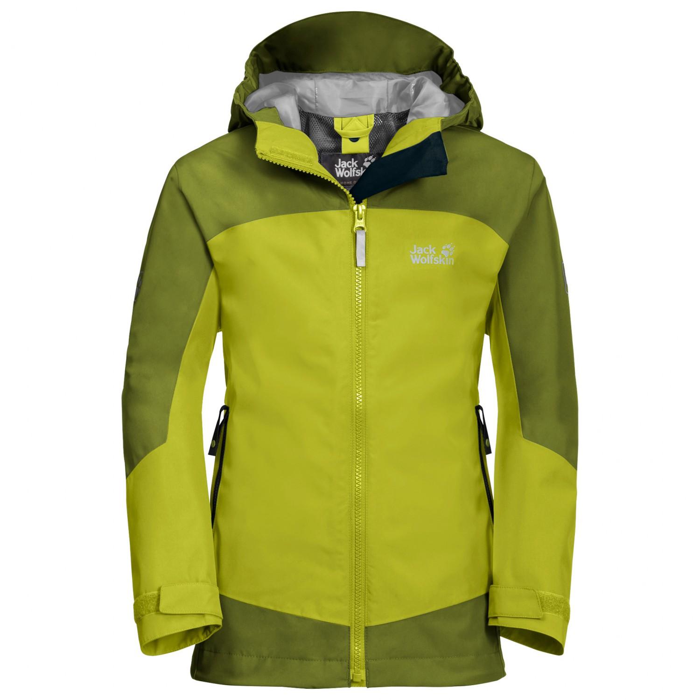 9f15befa3 Jack Wolfskin - Kid's Akka Jacket Boys - Waterproof jacket