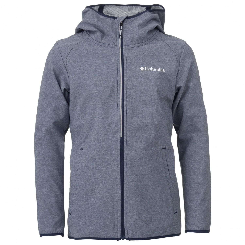 Columbia Kid's Heather Canyon Softshell Jacket Softshell jacket Collegiate Navy | S