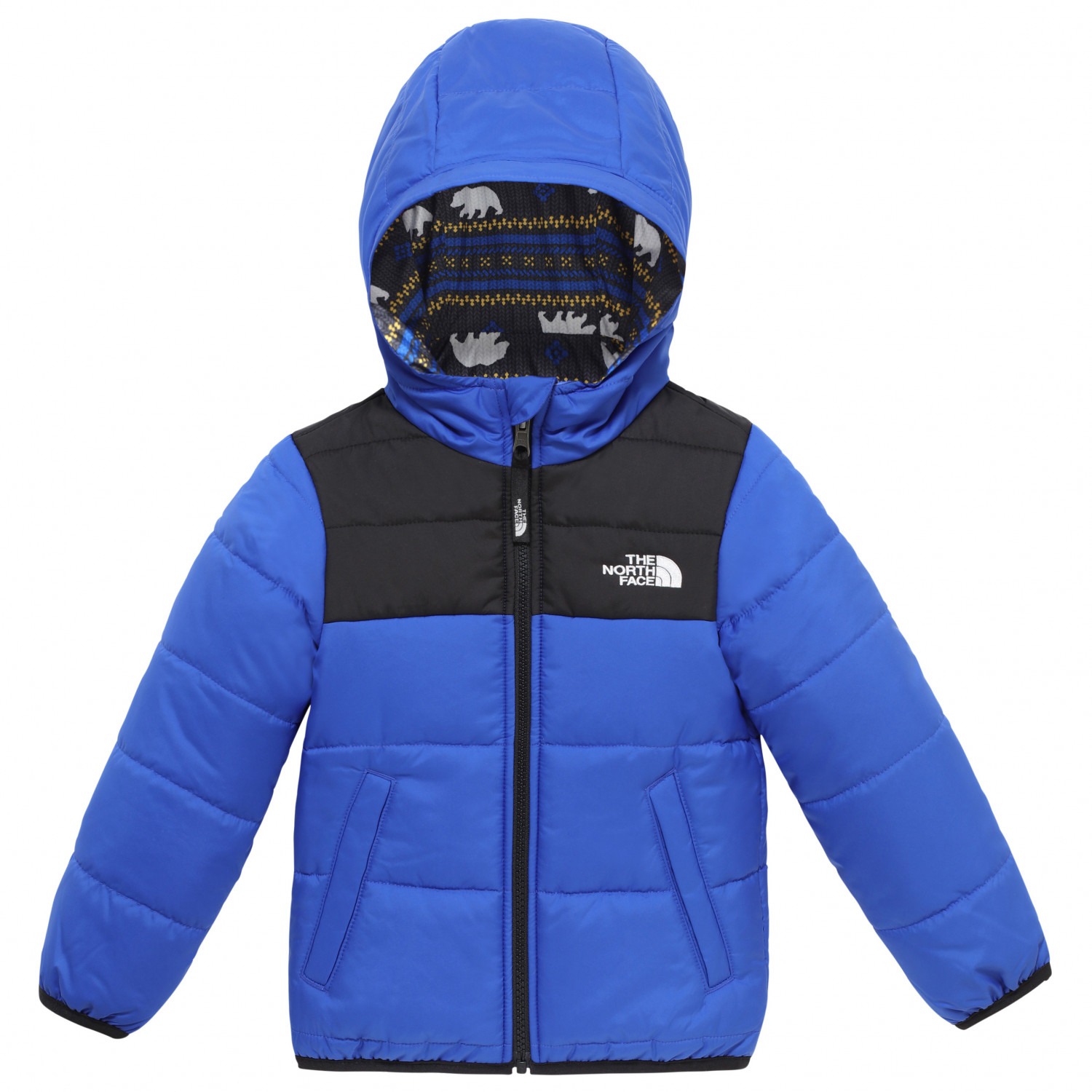 69ddc9b9d The North Face - Todd Boy's Reversible Perrito Jacket - Winterjacke - TNF  Blue | 2 Years