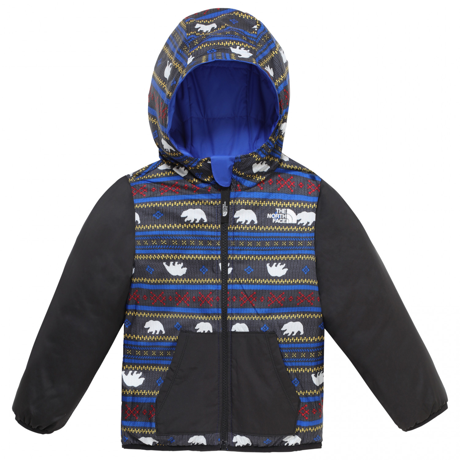 4f138a02d The North Face - Todd Boy's Reversible Perrito Jacket - Winterjack - TNF  Blue | 2 Years