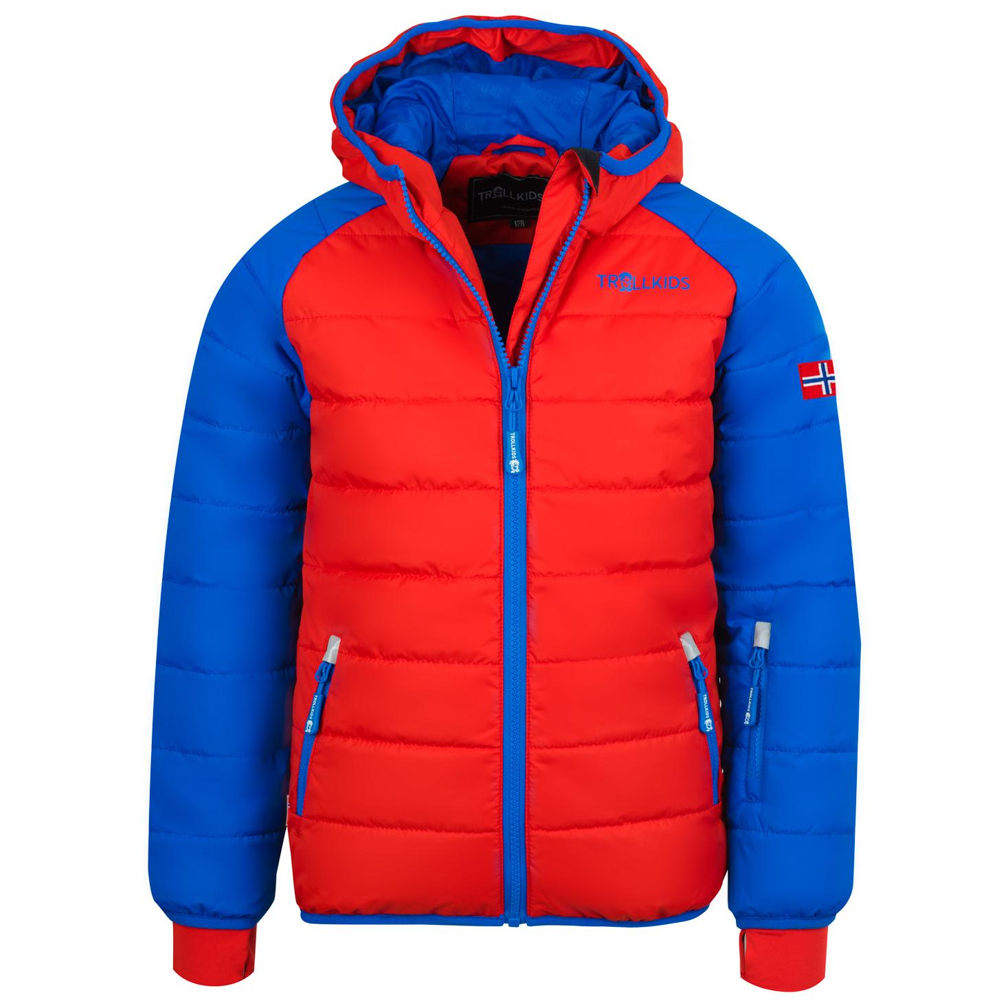 klassisch heißer verkauf rabatt bester Service Trollkids - Kid's Hafjell Snow Jacket XT - Ski jacket - Navy / Med Blue /  Green | 104 (EU)