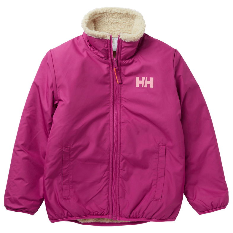 Helly Hansen Kid's Reversible Pile Jacket Fleecejacka Navy | 5 Years (US)