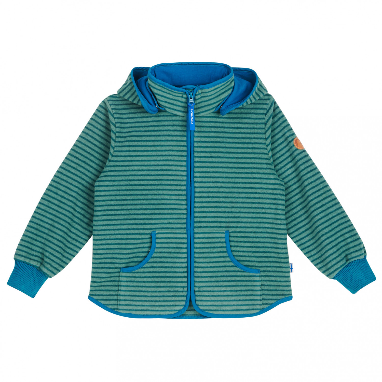fleece-jacke tonttu striped