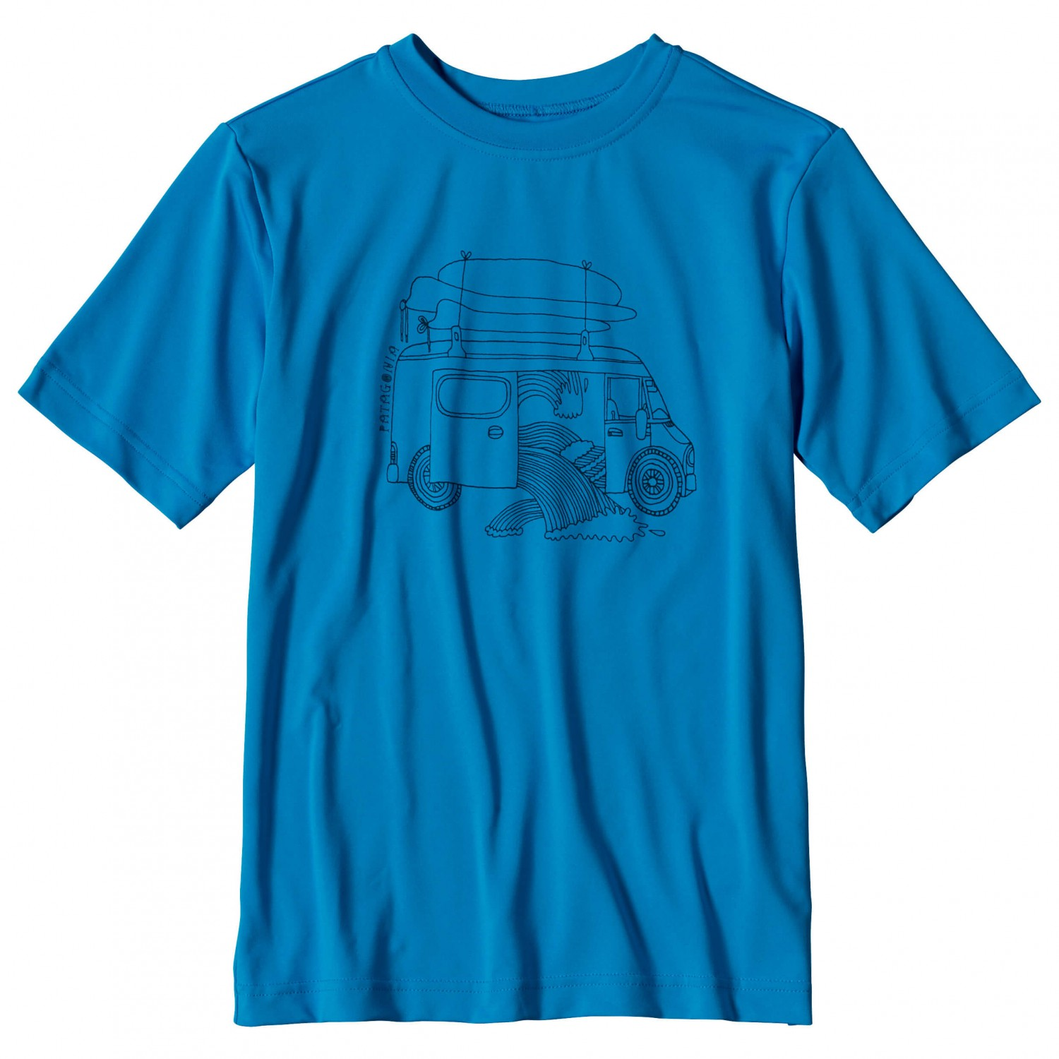 Patagonia Capilene Silkweight Graphic Tee T Shirt Boys