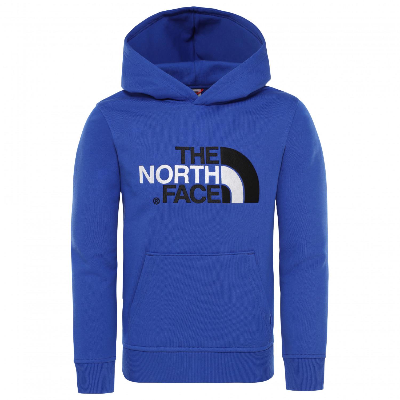 7e34ab6c5 The North Face - Kid's Drew Peak Pullover Hoody - Hoodie - TNF Blue / TNF  Black | XS