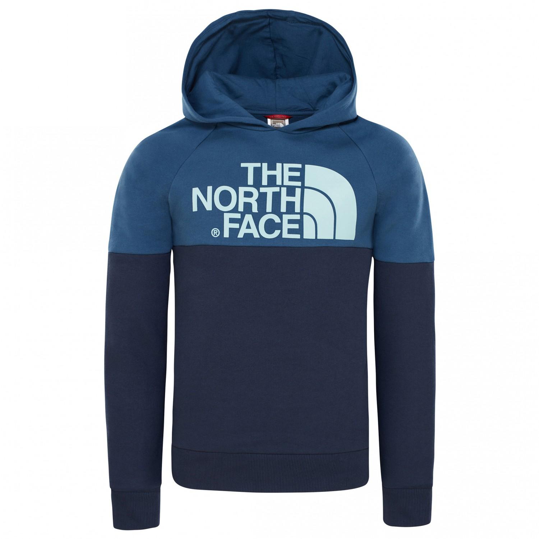 7adbd46ecb The North Face - Youth Drew Peak Raglan PV Hoodie - Sweat à capuche ...
