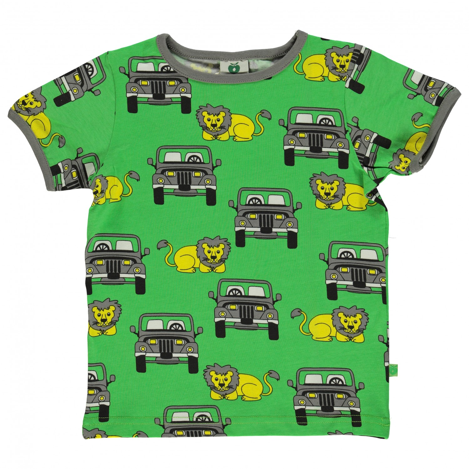 c54c9b464 Smafolk T-Shirt With Suv And Lion Kids | Buy online | Alpinetrek.co.uk