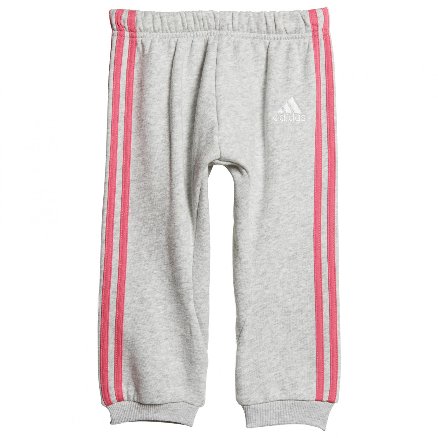 Adidas Fleece 3 Streifen Jogginganzug Sweat