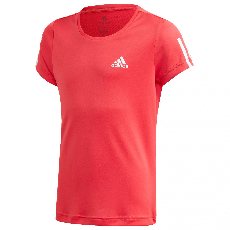 adidas Girl's TR EQ Tee T shirt Sky Tint White | 128 (EU)