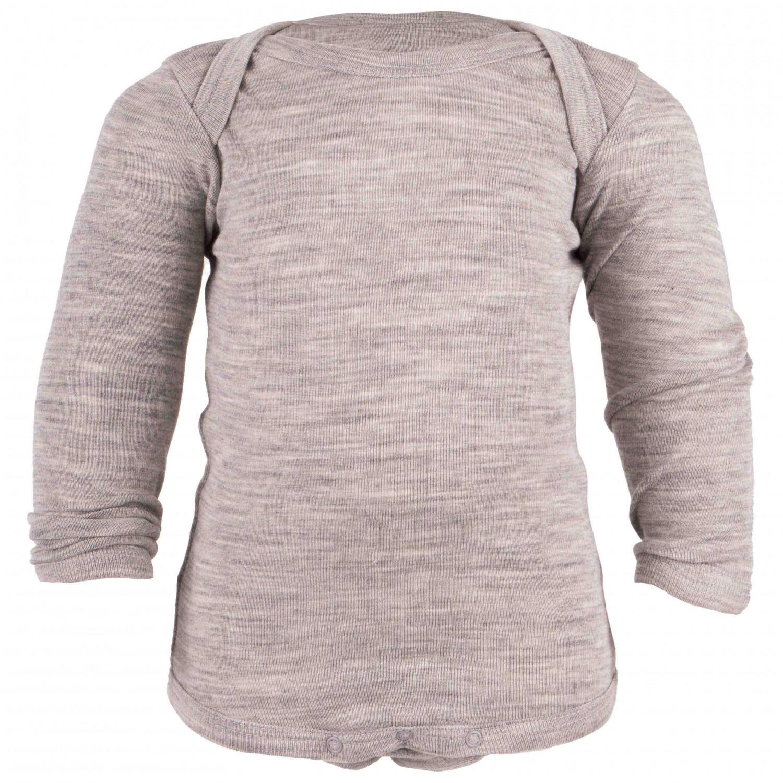 Engel Baby Body L S - Sous-vêtements en laine mérinos Enfant  22095fc581d