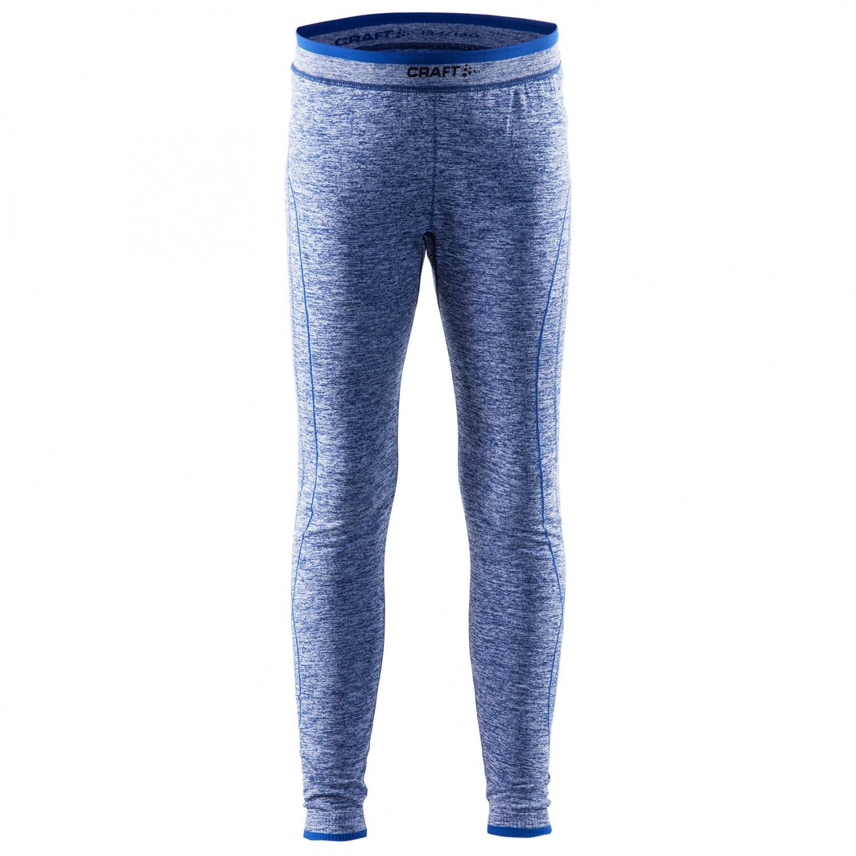 Craft Essential Jr Boys Warm Baselayer Trousers Boys