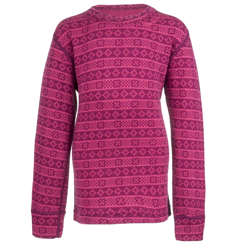 Devold Alnes Kid Shirt - Sous-vêtements en laine mérinos Enfant ... 70fc8788596