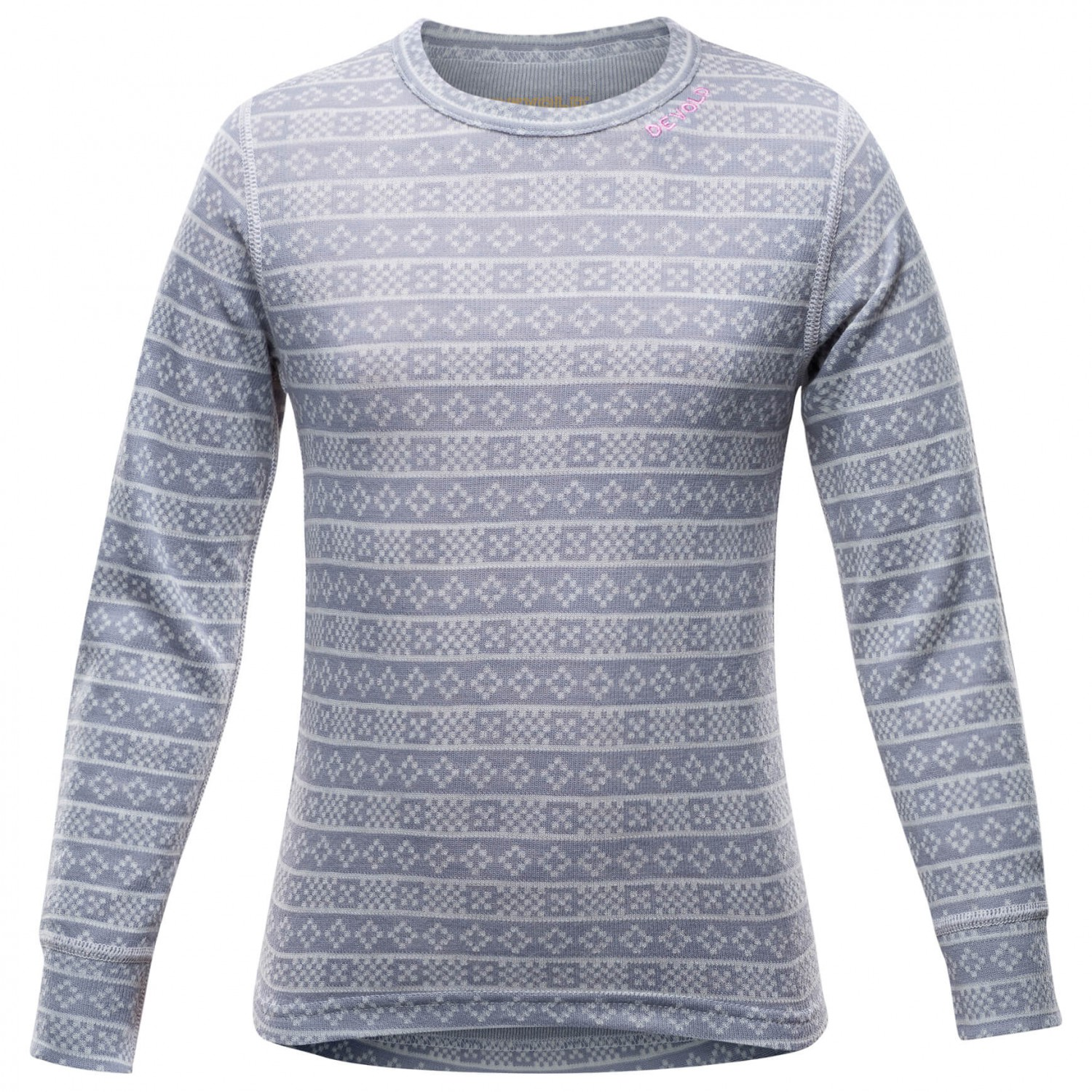 Devold Active Kid Shirt Merinoundertøy