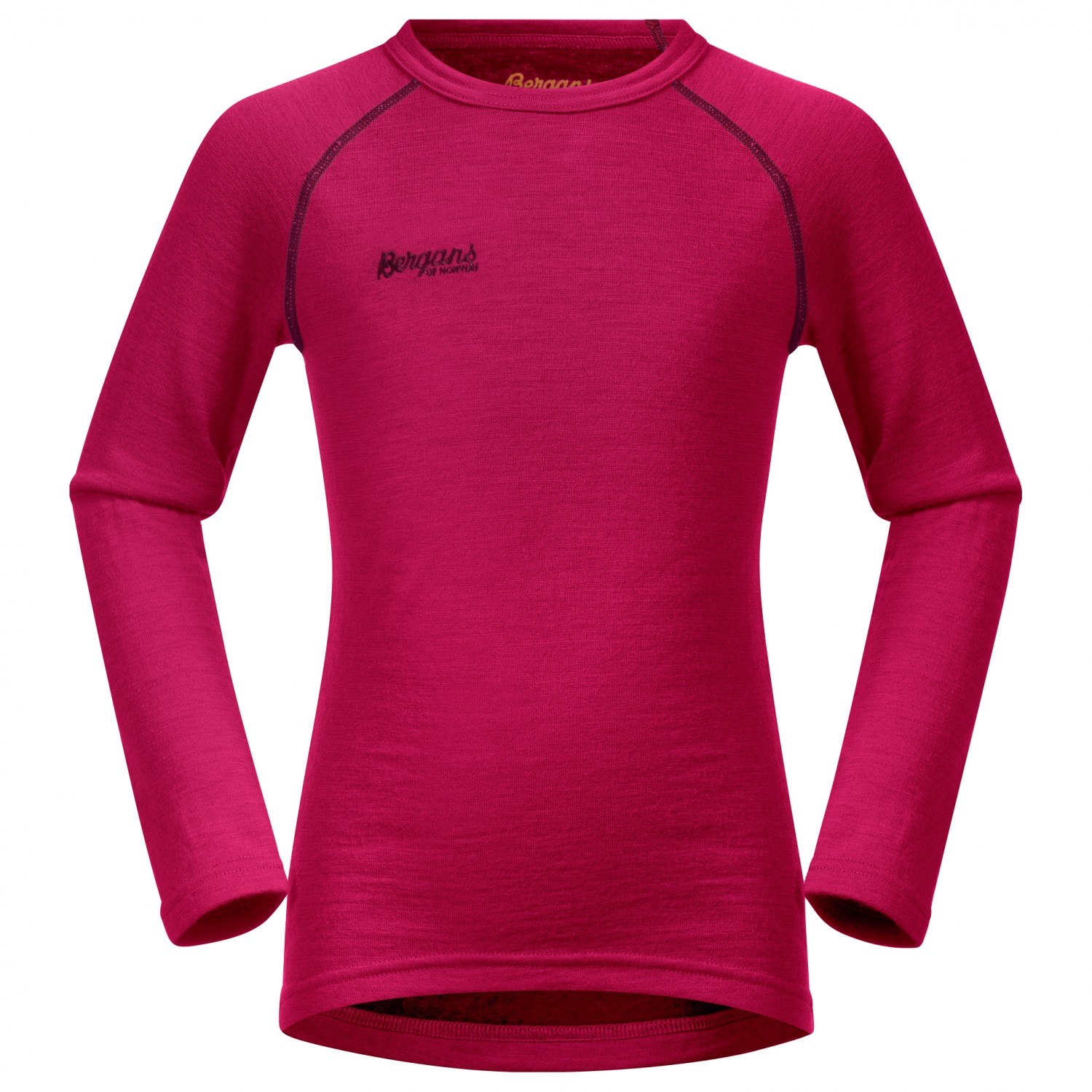 02ed52e338 Bergans Akeleie Shirt - Merino Base Layer Kids