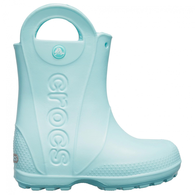 outlet store 01602 802c9 Crocs - Handle It Rain Boot Kids - Gummistiefel - Ice Blue | C10 (US)
