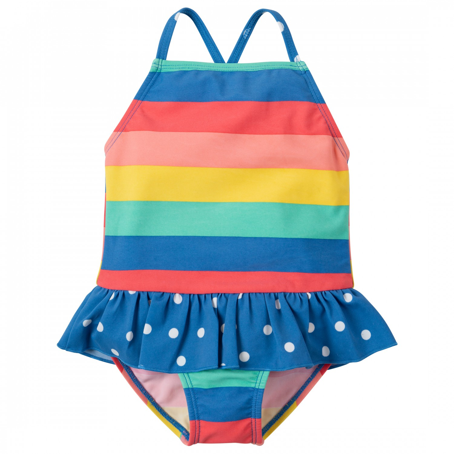 6b4e043a49195 Frugi - Kid s Little Coral Swimsuit - Swimsuit ...