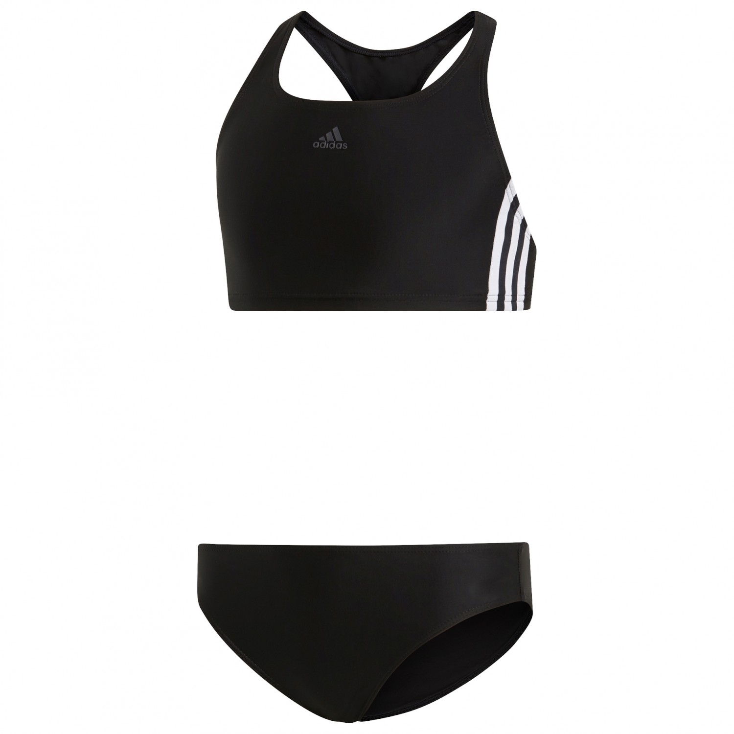 Adidas Streifen White128eu Y Fit Black Kid's 2 Piece 3 Bikini N8n0mwOv