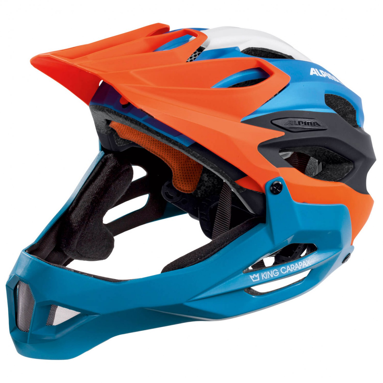 Alpina King Carapax Bicycle Cycle Bike Helmet Cherry