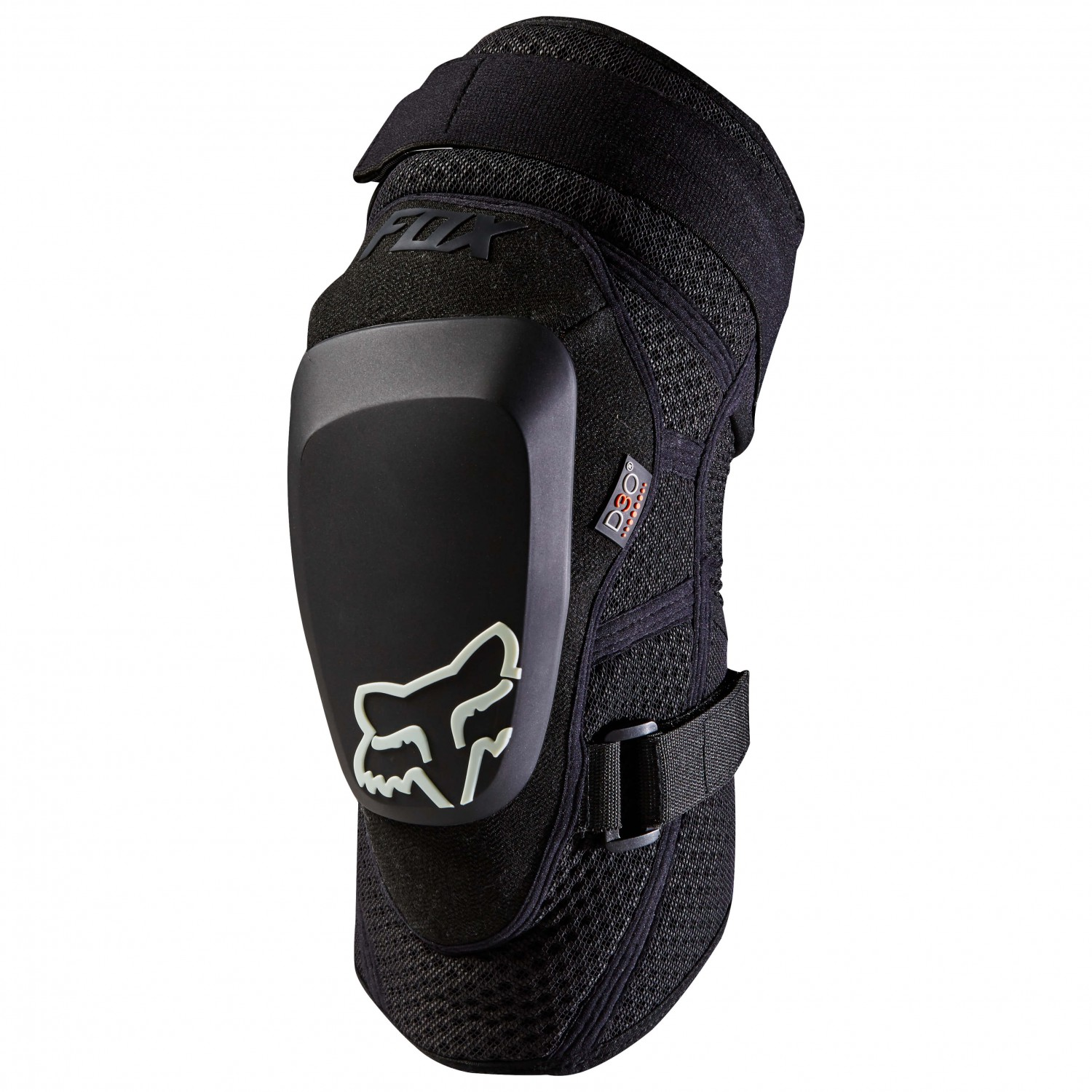 Fox Launch pro D30 Knee Guard MTB Protector Red Mountain Bike Dh