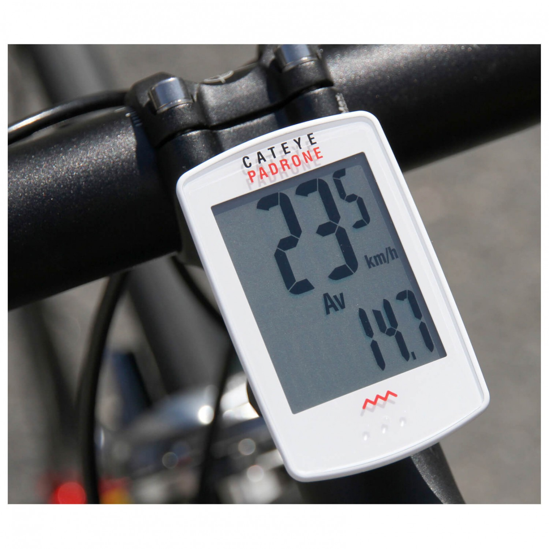 Cateye Bike Computer >> CatEye Padrone CC-PA100W - Fahrradcomputer online kaufen ...