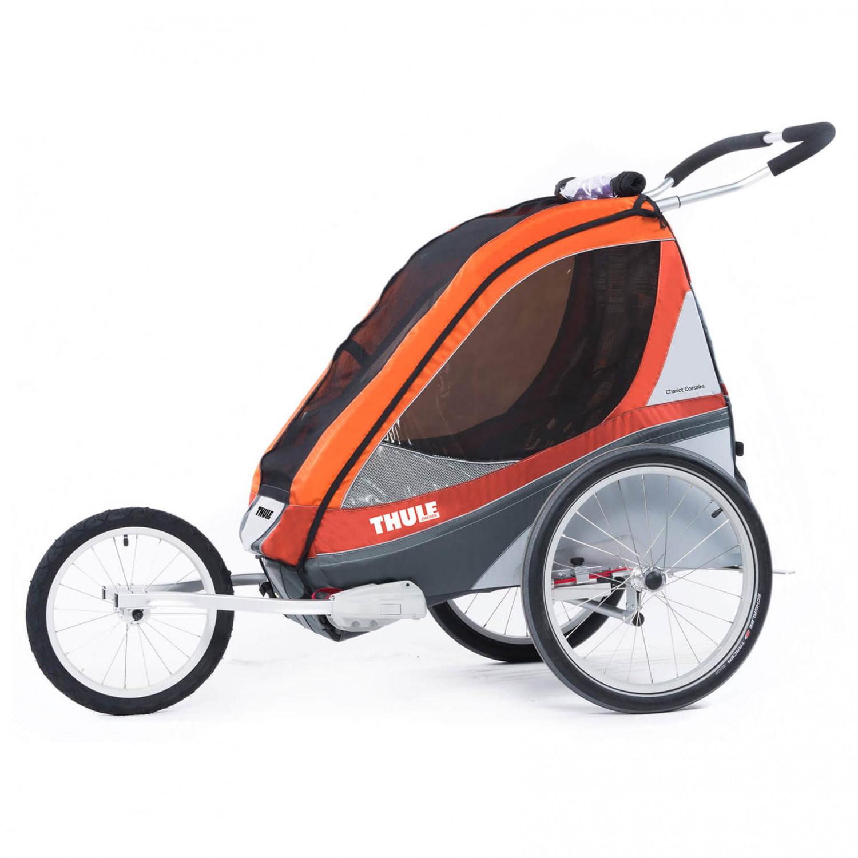 thule chariot corsaire 2 sitzer fahrradanh nger online. Black Bedroom Furniture Sets. Home Design Ideas