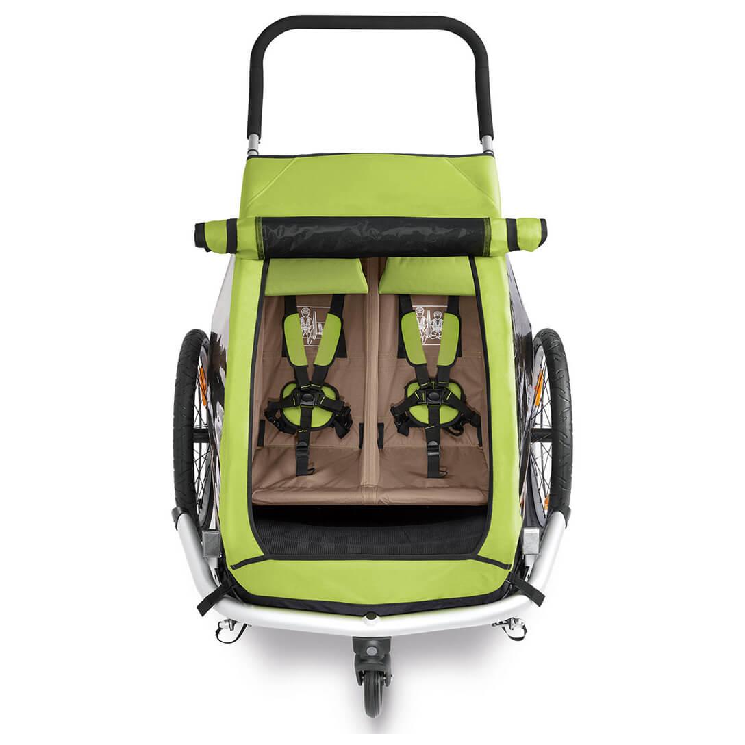 croozer kid for 2 click crooz fahrradanh nger online. Black Bedroom Furniture Sets. Home Design Ideas