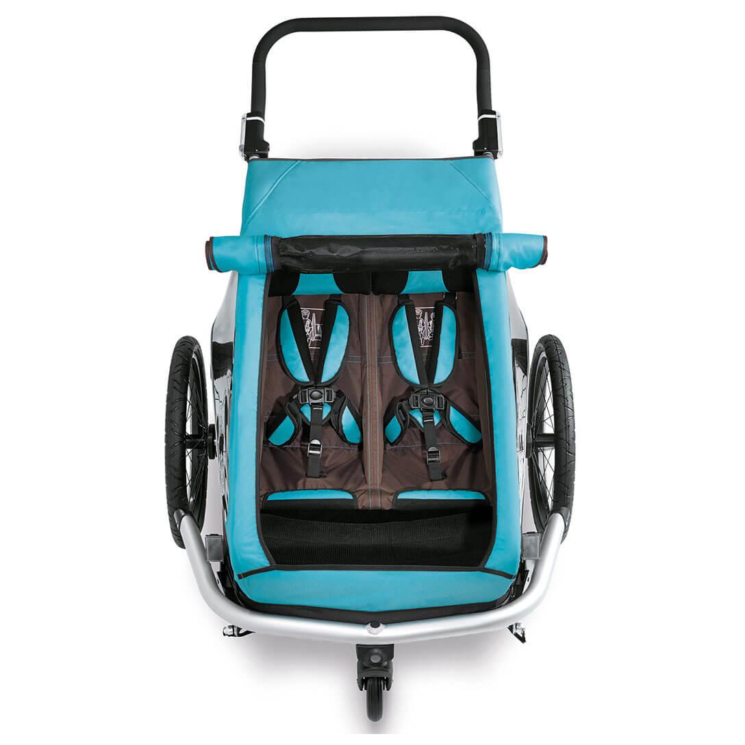 croozer kid plus for 2 click crooz fahrradanh nger. Black Bedroom Furniture Sets. Home Design Ideas
