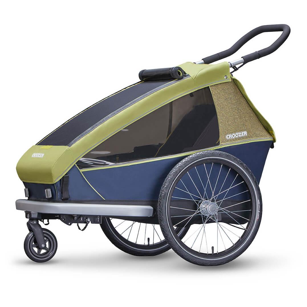 croozer kid for 2 sykkelvogn for barn kj p online. Black Bedroom Furniture Sets. Home Design Ideas