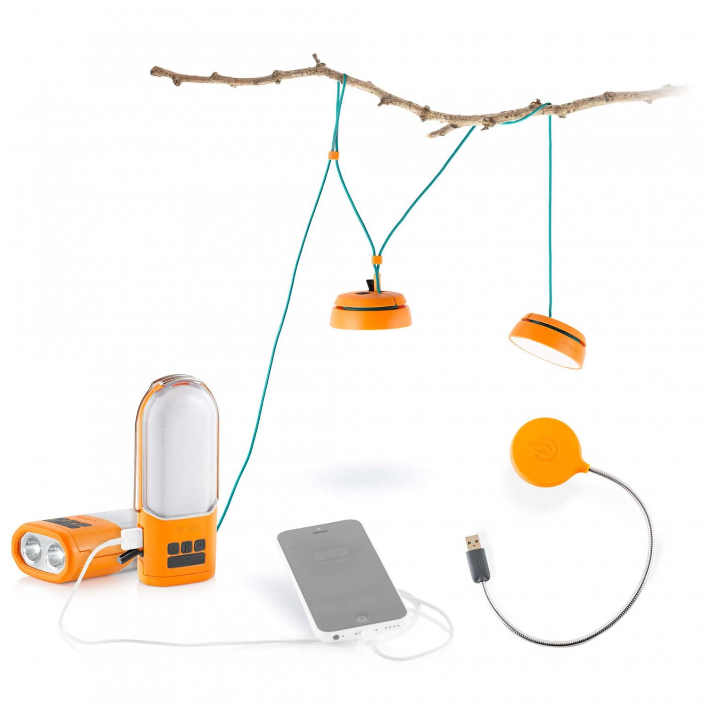 biolite led lampe nanogrid flexlight set gratis verzending. Black Bedroom Furniture Sets. Home Design Ideas