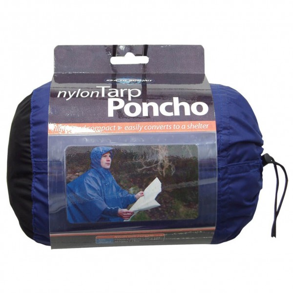 Sea to Summit - Nylon Tarp Poncho - Poncho de pluie