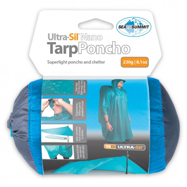 Sea to Summit - Ultra-Sil Nano 15D Tarp-Poncho