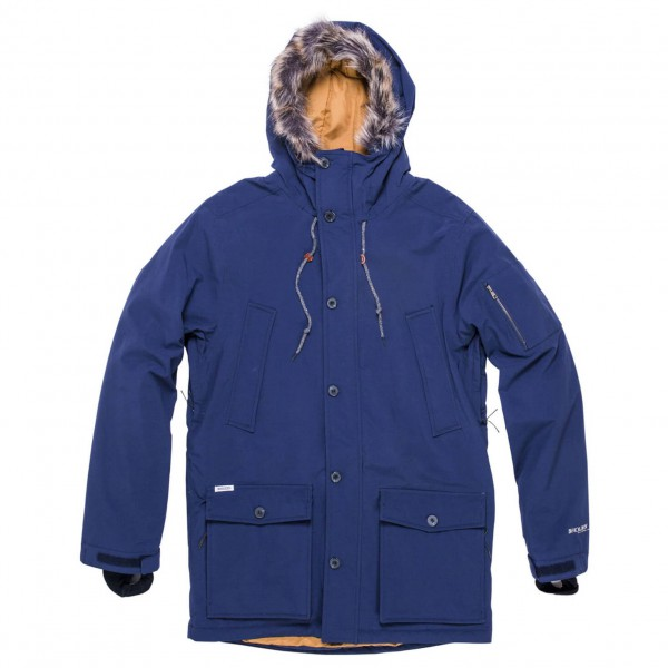Holden - Kohl Down Jacket - Pitkä takki