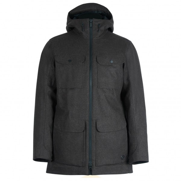 Alchemy Equipment - Insulated Tech Wool Parka - Långjacka