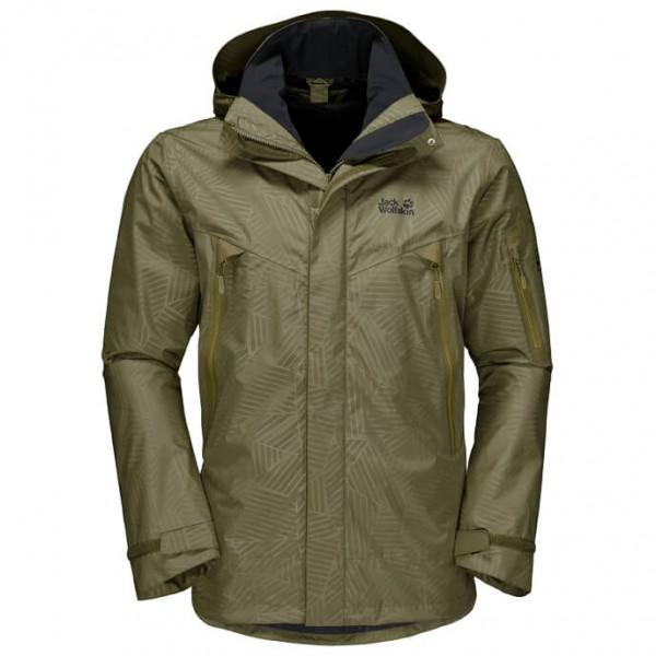 Jack Wolfskin - Rocky Forest Leaf - Waterproof jacket
