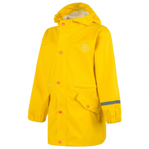 Color Kids - Kid's Viggo Rain Coat PU - Mantel