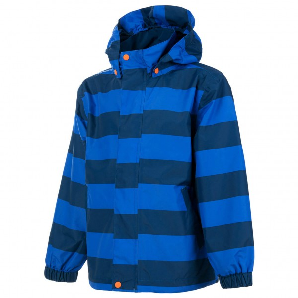 Color Kids - Kid's Vilson Jacket AWG AOP - Hardshelltakki